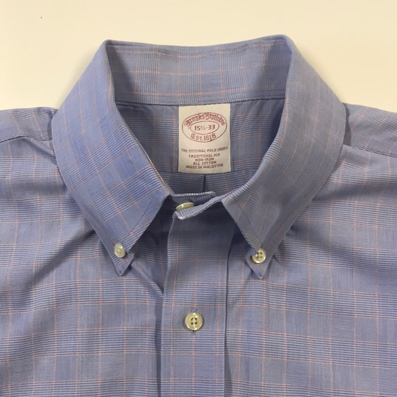 Brooks Brothers Other - BROOKS BROTHERS Mens Blue Oxford Dress Shirt